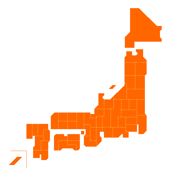 CraftMAP ,日本・世界の白地図,