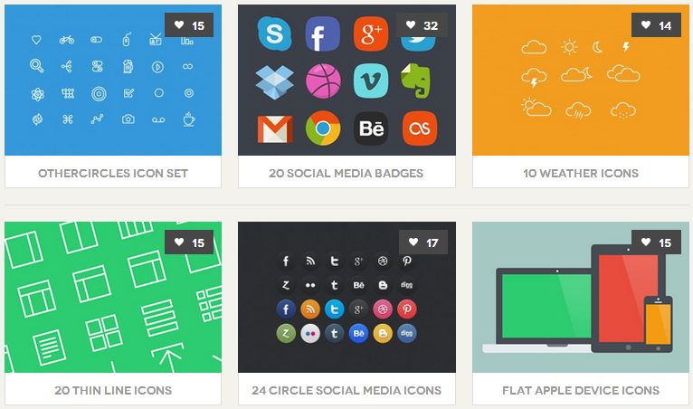 Best PSD Freebies Icons (アイコン)
