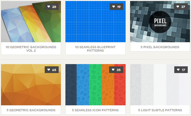 Best PSD Freebies Patterns (パターン)