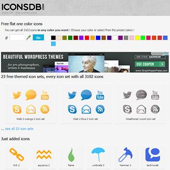 アイコン配布サイト ICONSDB