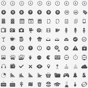 350pixel Perfect Icons by Brankic1979