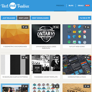 Best PSD Freebies Photoshop素材サイト