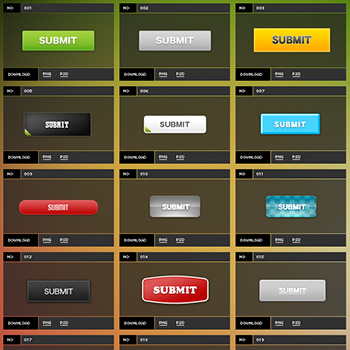 ボタン専門素材サイト button-download.com