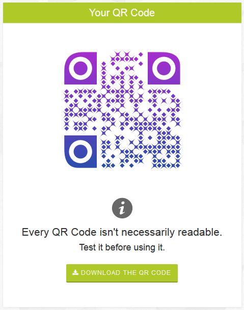Design QR Code generator オリジナリティあふれるQRコードが作れます。