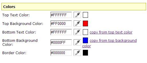 カラーも自由に選択できます。