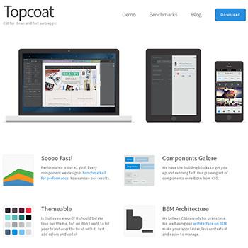 TopcoatはAdobe製のレスポンシブフレームワーク