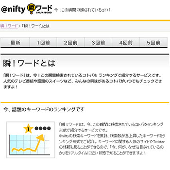 @nifty 瞬!ワード